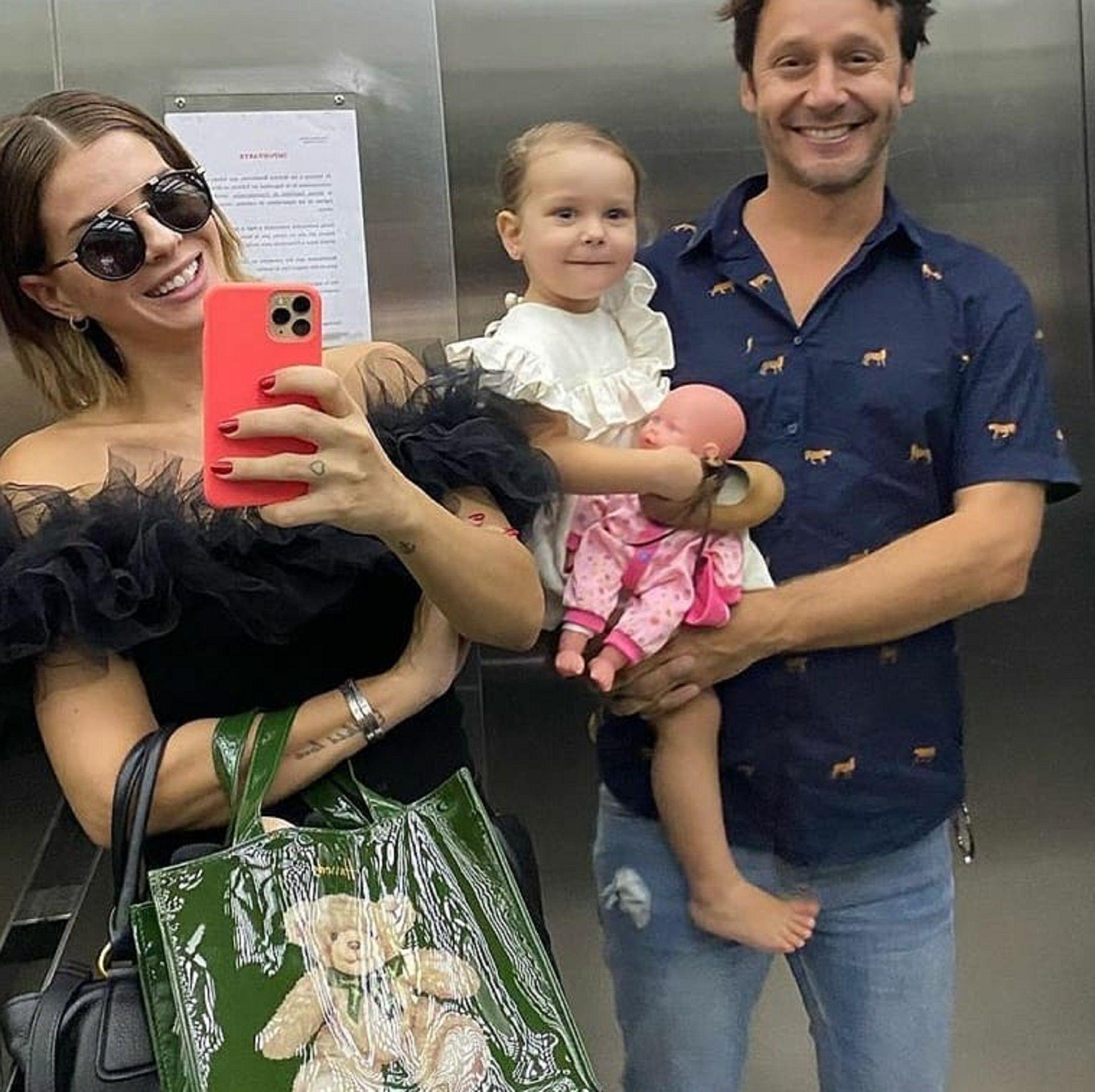 La China Suárez y Benjamín Vicuña son padres de Magnolia, de dos años