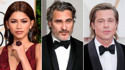 Zendaya, Joaquin Phoenix y Brad Pitt participarán de la ceremonia