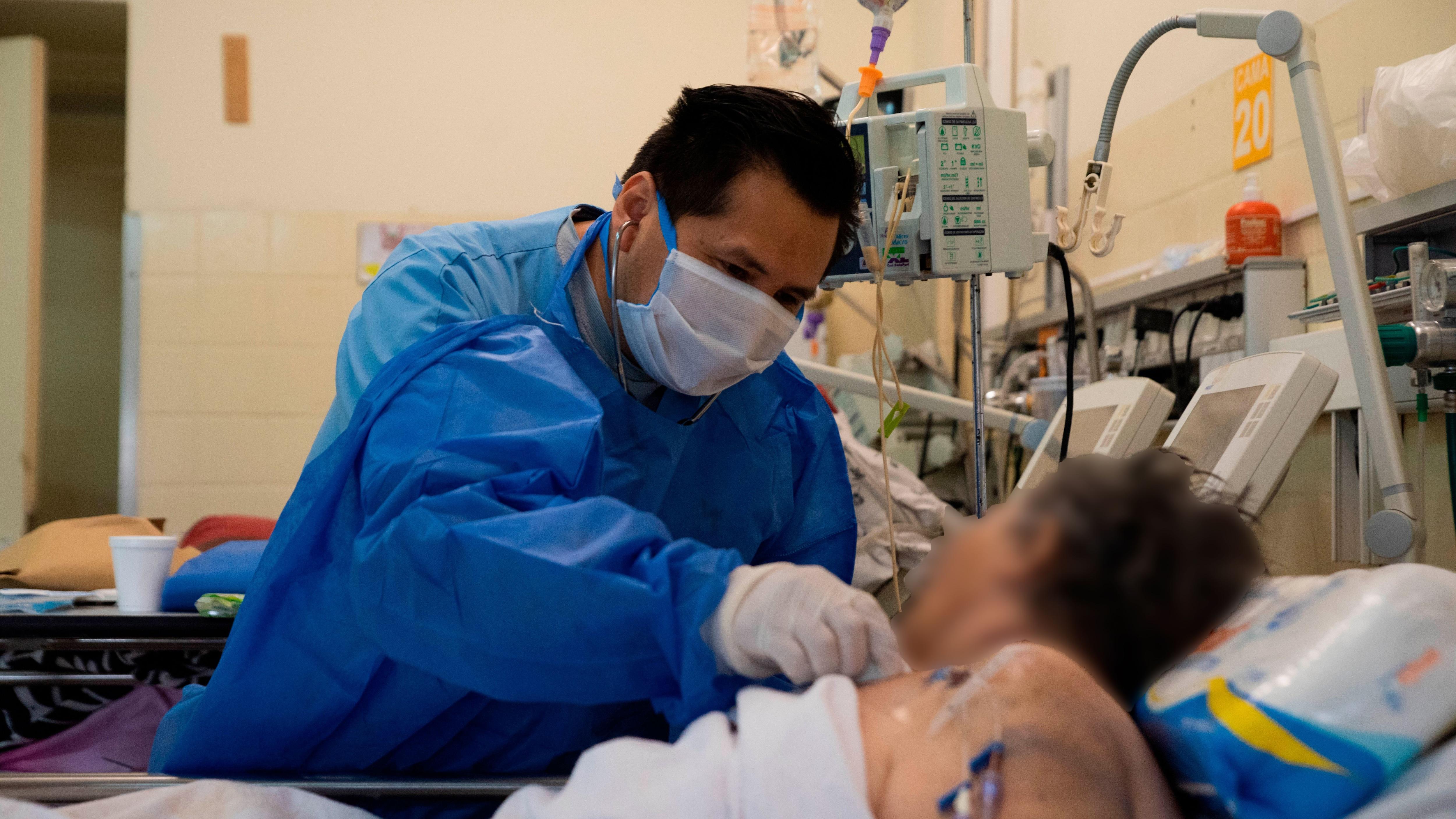 Recorrida Hospital Posadas - COVID 19 - Coronavirus