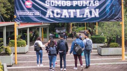 Se respira incertidumbre en el campus (Foto: FES Acatlán)
