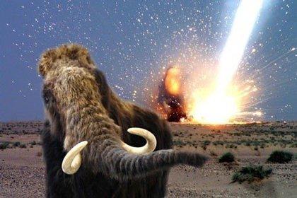 Los distintos rastros del impacto de un cuerpo cósmico que habría prendido fuego a vastas zonas de Norteamérica hace unos 13.000 años,  y habría causado la desaparición de más de 35 especies de grandes mamíferos