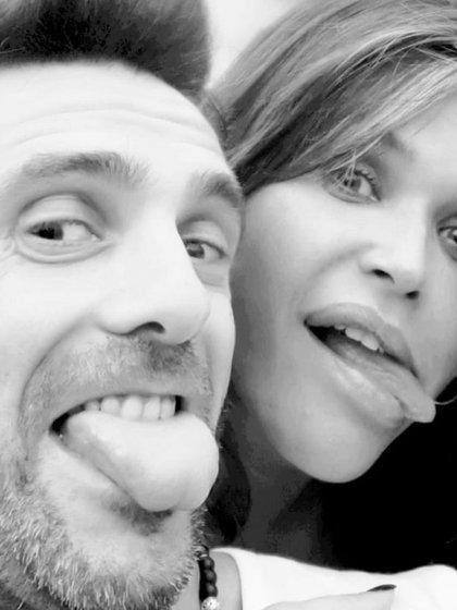 La primera foto que Nazarena y Santiago se sacaron cuando apostaron a su relación (Instagram)