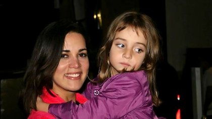 Mónica y su hija Maya
