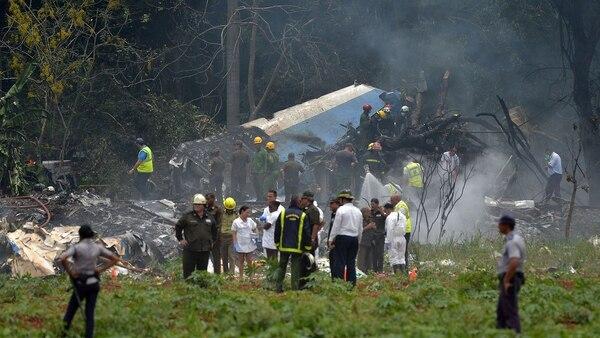 La aeronave accidentada, propiedad de Global Air y operada por Cubana de Aviación, cubría la ruta nacional entre La Habana y Holguín, y llevaba 113 pasajeros