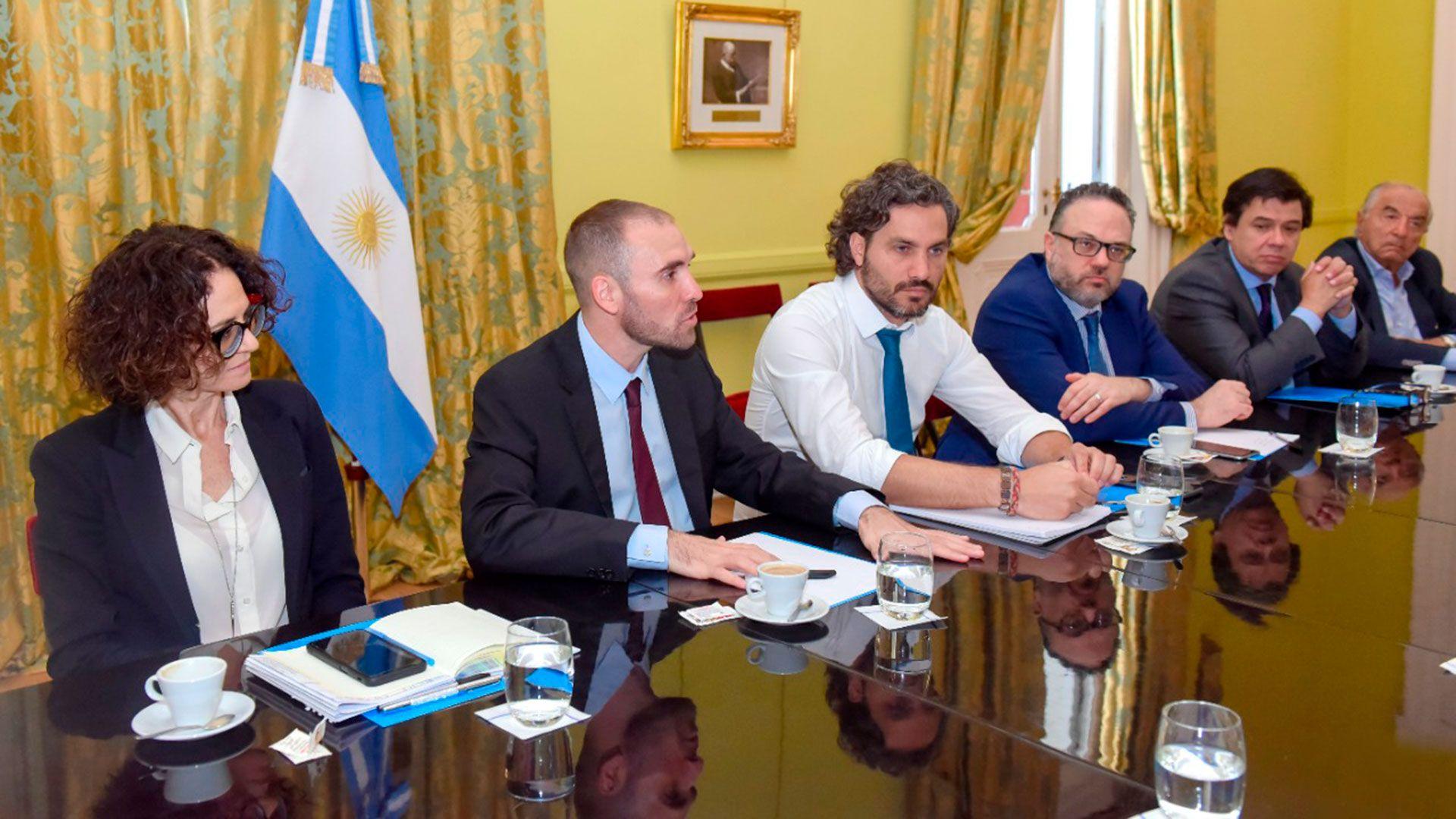 Santiago Cafiero al frente del gabinete económico (Presidencia)