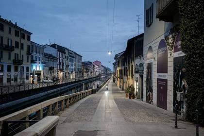 Las calles vacías, una postal de Europa en cuarentena (nytimes)