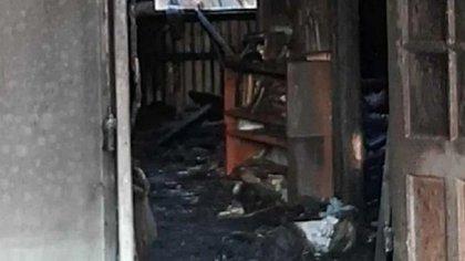 Las causas del incendio, que provocó la muerte de un ladrón, aún son materia de investigación (Aire de Santa Fe)