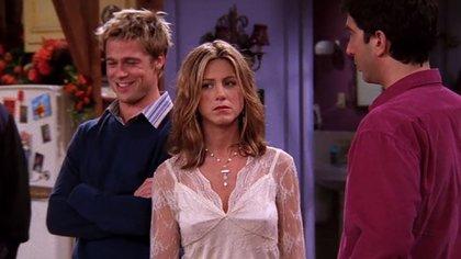 """La participación de Brad Pitt en el capítulo """"The One with the Rumor"""" le valió una nominación a los Emmy en 2001"""