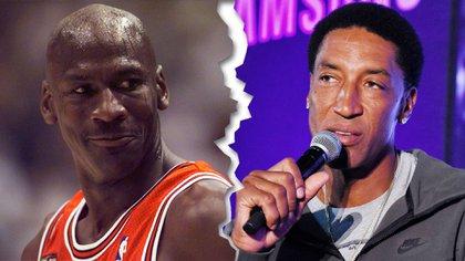 Jordan y Pippen, socios en el campo de juego, pero con diferencias por el documental