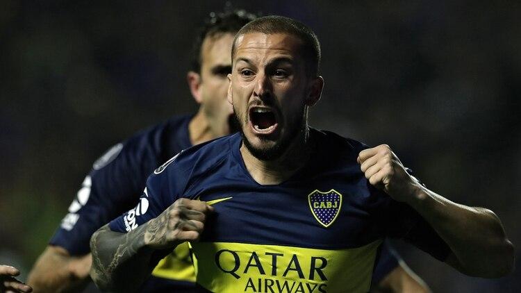 Benedetto llegó a Boca hace dos años y medio (AFP)