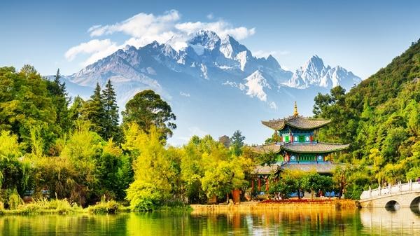 Postal de Kunming, en la provincia de Yunnan (Getty)