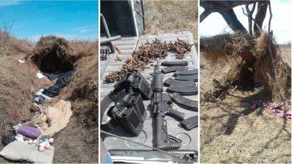 Aseguran armas y vehículos en campo de adiestramiento clandestino del narco QY6GC525TNHXPMHZ4RJSOJTSMQ