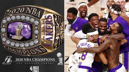 Se filtró el diseño del lujoso anillo de campeón de la NBA de Los Ángeles Lakers