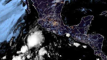 Arrancó la temporada de huracanes 2021 en el Pacífico: se formó la Depresión Tropical 1-E frente a las costas de Jalisco