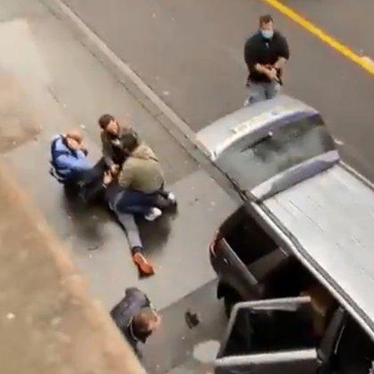 Conductor arrestado