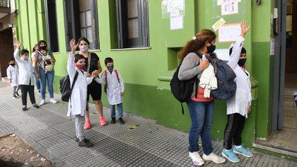 Las escuelas de la Ciudad abrirán sus puertas este lunes (Maximiliano Luna)