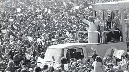 Fue el primer Papa en conquistar popularidad masiva y universal y el primero en convocar multitudes