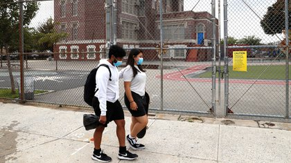 Presentaron una demanda para reabrir las escuelas en Nueva York (Reuters)