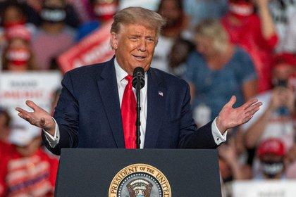El presidente de los Estados Unidos, Donald Trump. EFE/Giorgio Viera/Archivo