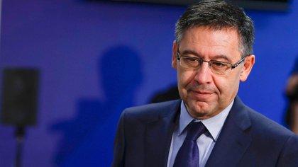 Josep Maria Bartomeu dejó de ser el presidente del FC Barcelona (Shuterstock)