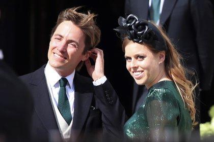La princesa Beatriz y su esposo Edoardo Mapelli Mozzi