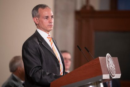 El subsecretario de Prevención y Promoción de la Salud es también el encargado de las conferencias diarias entorno al COVID-19 (Foto: Cortesía Presidencia)