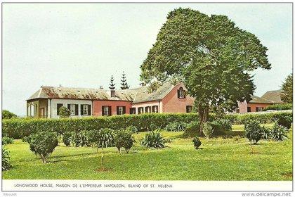 Longwood House, la granja que debió ser acondicionada para alojar a Napoleón y a sus acompañantes. Hoy es una atracción turística.