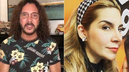 Oscar Burgos comentó que no puede llevar una mala relación con Karla Panini, la madre de su hijo (IG: oscarburgostv/ malinfluencersmx)
