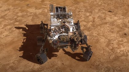 NASA's relentless rover lands in the Jessero crater on Mars.  Europe Spain Policy Research and Technology NASA