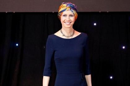 Asma al-Assad, cuando se recuperaba del cáncer de mama. REUTERS/Omar Sanadiki.