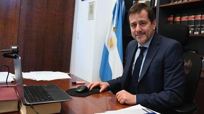 Mariano Recalde, senador porteño por el Frente de Todos (Prensa Senado)