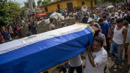 La represión de Daniel Ortega ya dejó más de 350 muertos (EFE)