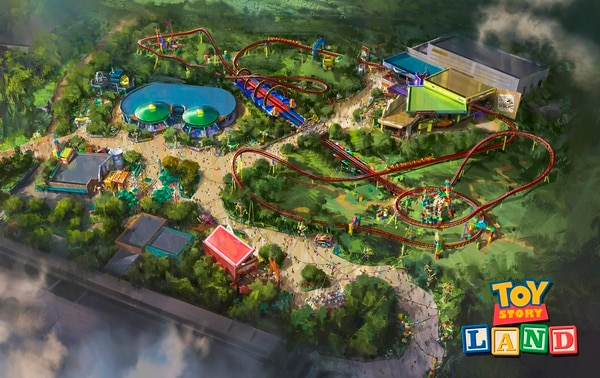 Toy Story Land contará con 12 acres de diversión inspirados en la película animada de Disney-Pixar