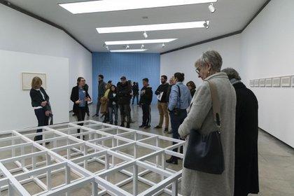 """""""Modular Floor Structure"""", de Sol LeWitt (Patricio Pidal)"""