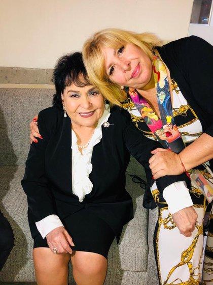 La actriz dedicó un emotivo mensaje en recuerdo a Magda Rodríguez y su familia (Foto: Instagram @ carmensalinas_54)