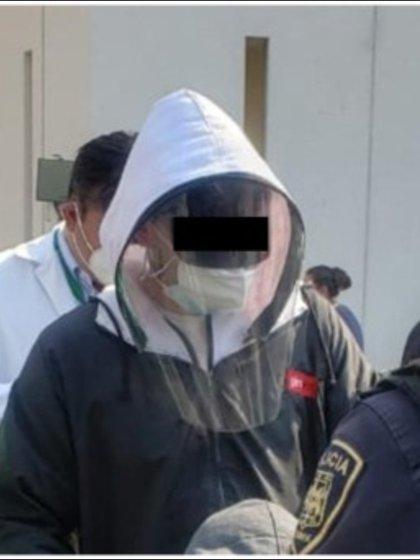 A pesar de sus disfraces, no pudieron burlar la ley Foto: (SSC CDMX)