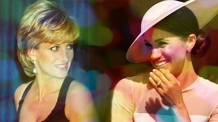 Lady Di y Meghan Markle