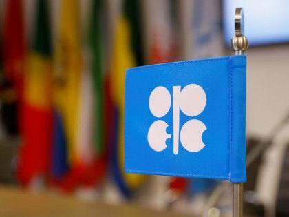 FOTO DE ARCHIVO: El logo de la OPEP en su sede central en Viena, Austria, el 7 de diciembre de 2018. REUTERS/Leonhard Foeger