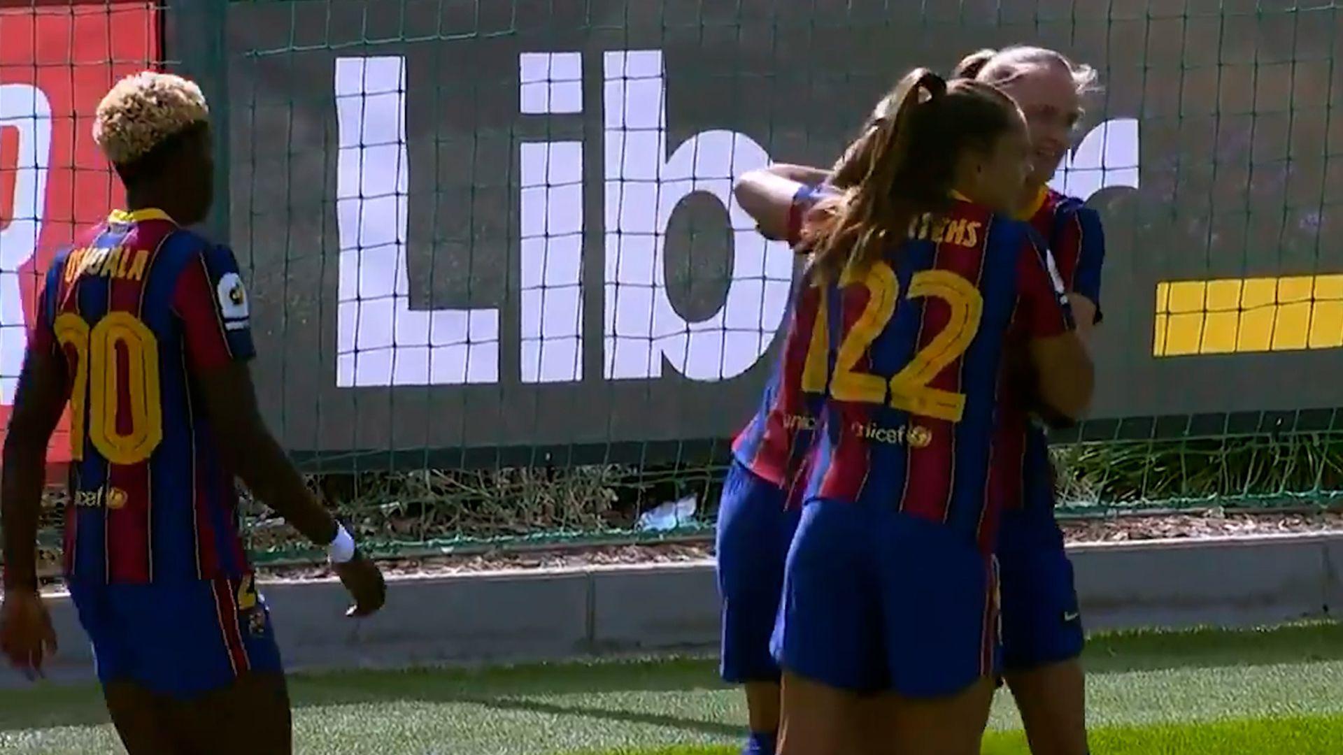 Primer Barcelona - Real Madrid femenino