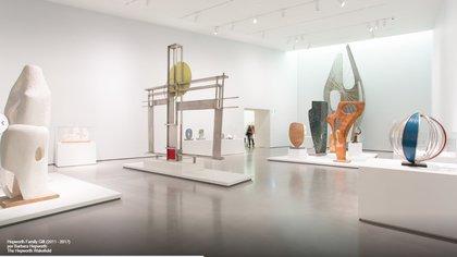 Esta obra, que consiste en 44 prototipos, se encuentran en exhibición permanente en The Hepworth Wakefield (Google Arts and Culture)