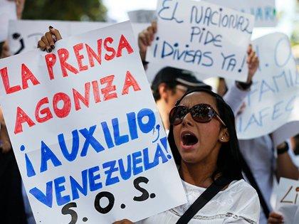 El asedio contra la prensa libre en Venezuela ha sido sistemático