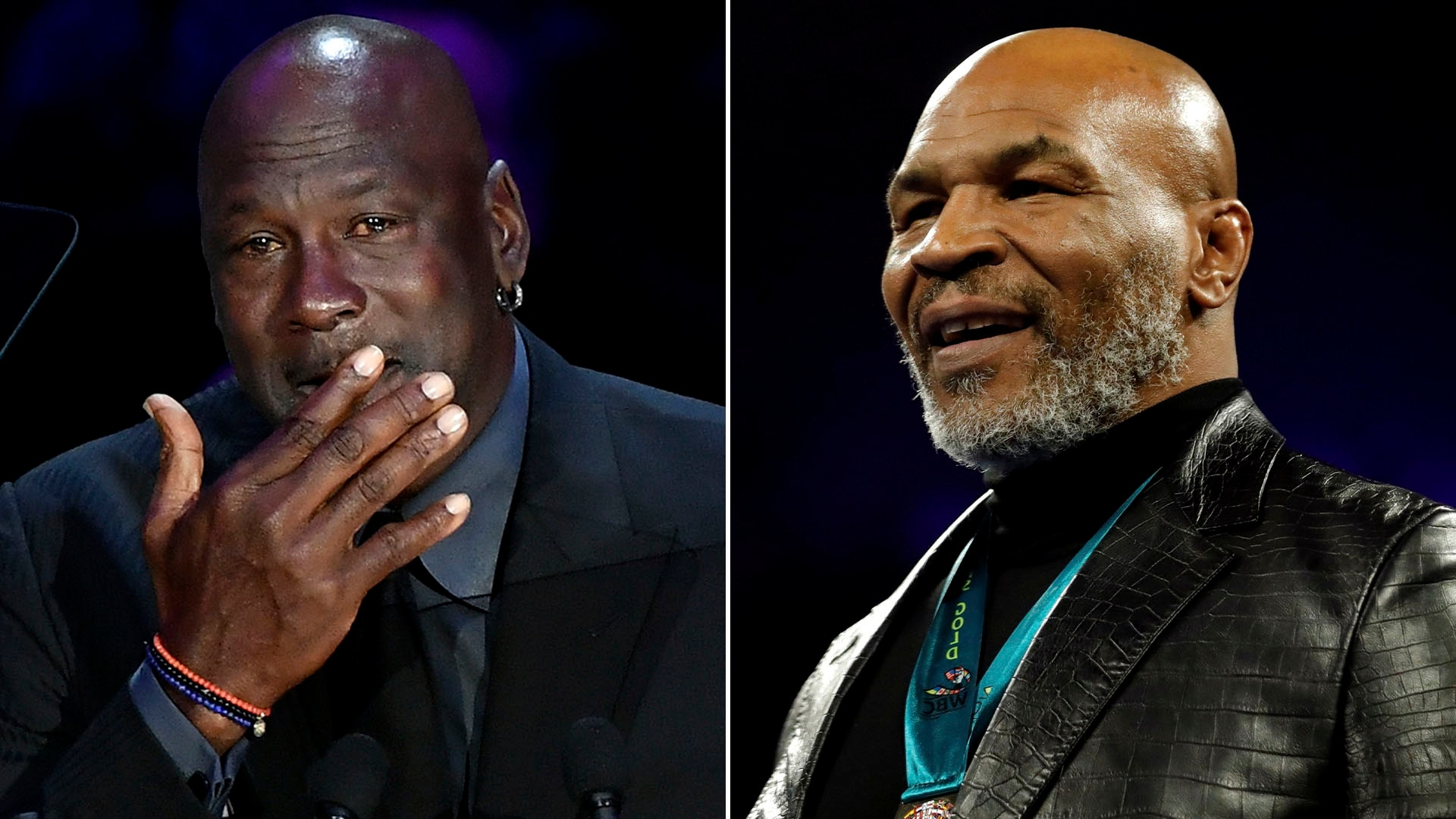 """El día que Mike Tyson estuvo a punto de golpear a Michael Jordan: """"Sé que estuviste con mi mujer""""  - Infobae"""