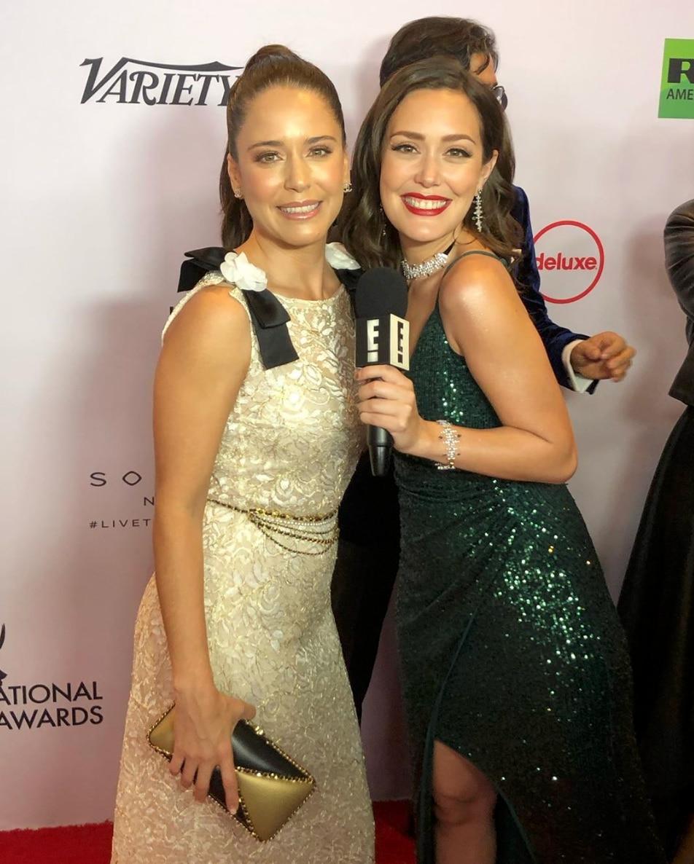"La actriz mexicana, Ana Clauda Talancón, participa actualmente en la serie ""El Recluso"" (Foto: E! Entertainment/E! Online Latino)"