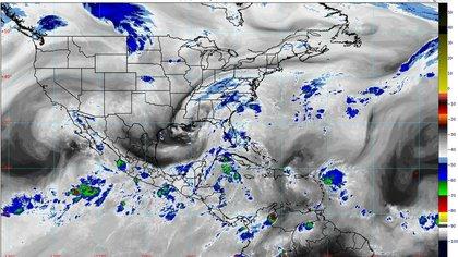 """La depresión tropical 14 evolucionará a la tormenta tropical """"Marco"""" durante el fin de semana (Foto: Conagua)"""