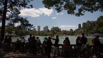 El Bosque de Chapultepec es el principal pulmón de la Ciudad de México (Foto: Cuartoscuro)