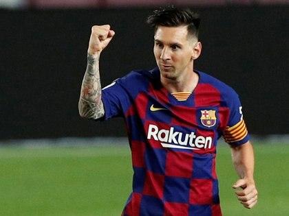 Lionel Messi llegó al gol 700 en el encuentro ante Atlético de Madrid disputado en el Camp Nou(REUTERS/Albert Gea)