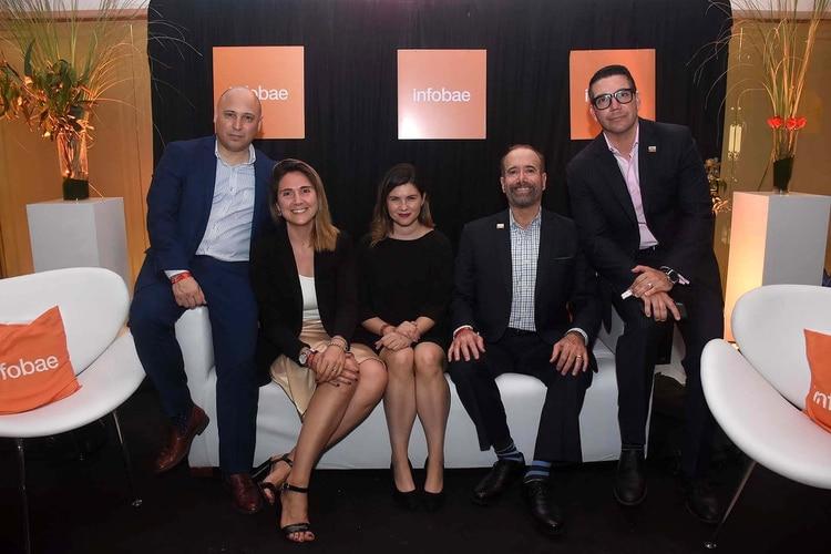 El equipo de Hilton en el evento de Great Place to Work
