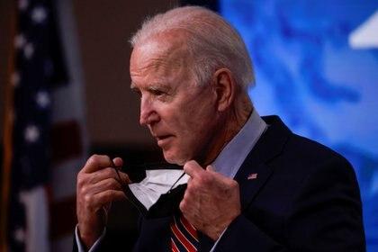 El presidente de los Estados Unidos, Joe Biden (REUTERS/Tom Brenner)