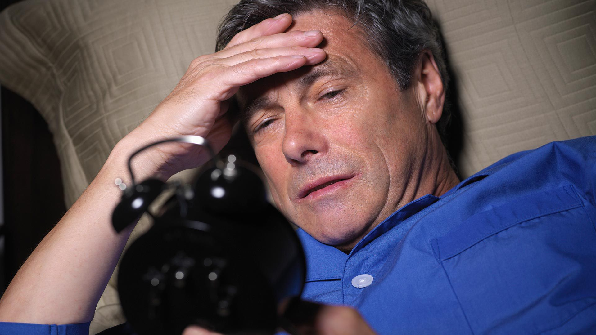 Trastorno de sueño - insomnio