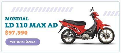Mondial LD 110 MAX AD